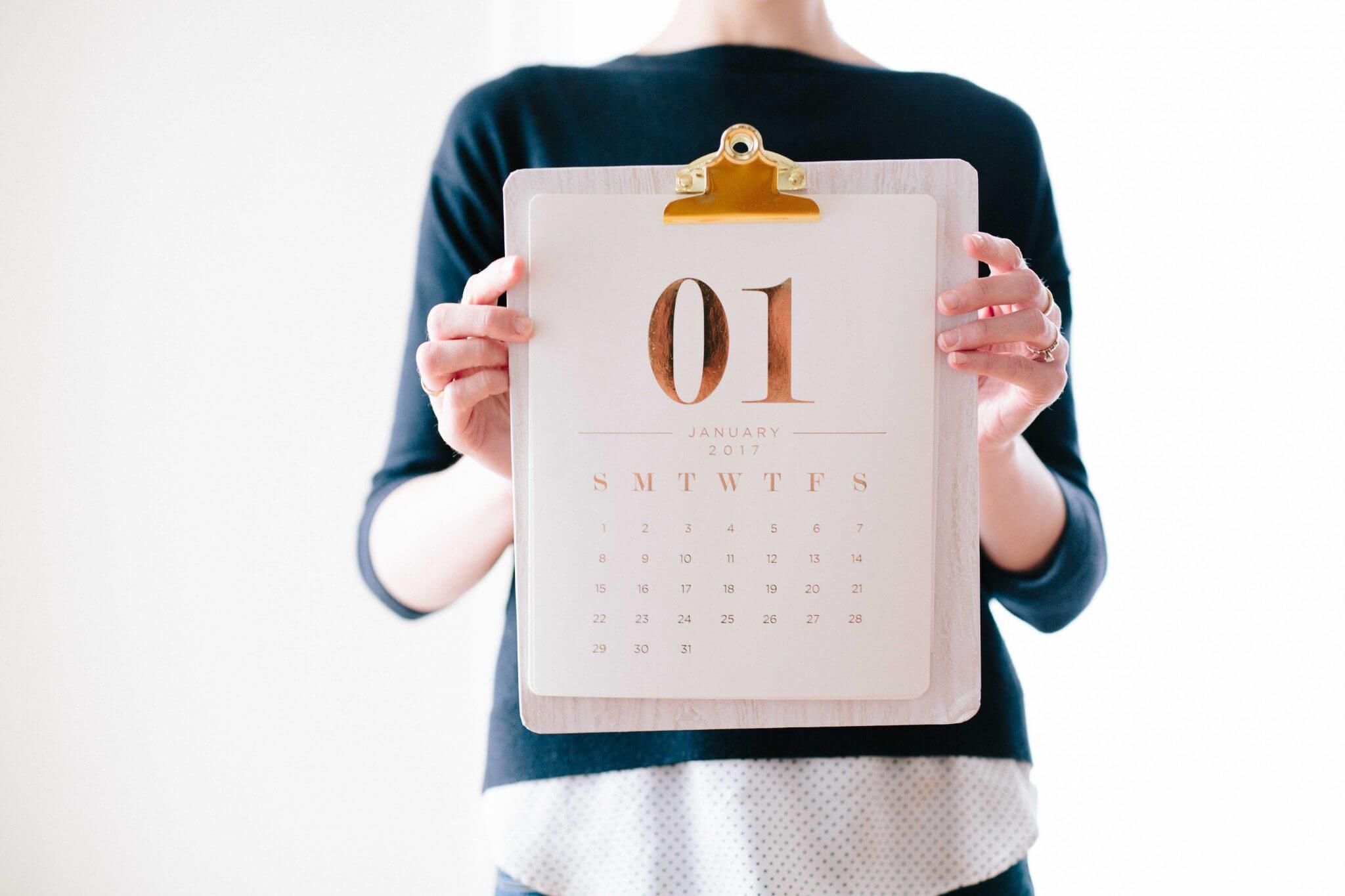 Messekalender Januar 2018