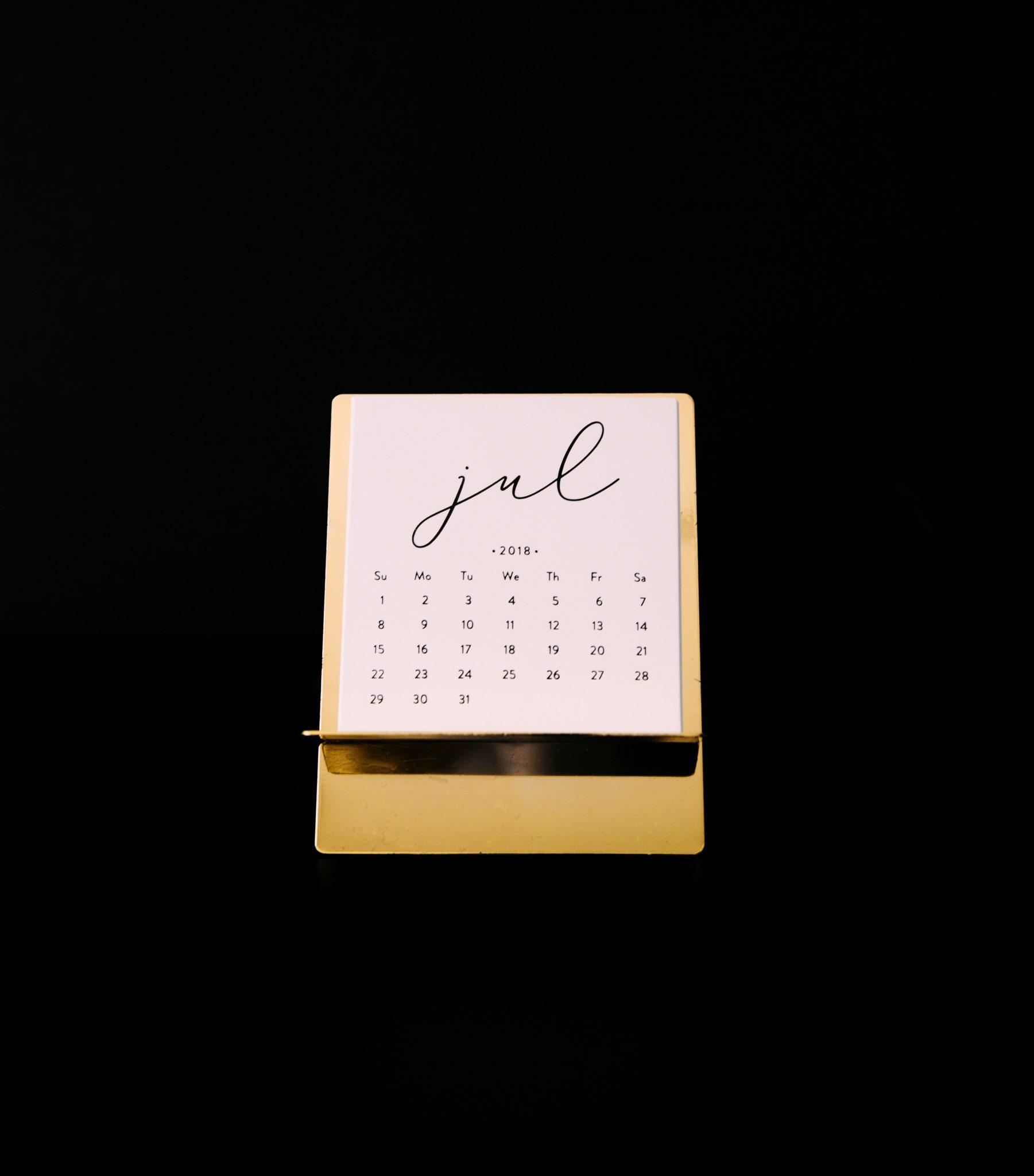 Messekalender Juli 2018