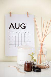 Messekalender August 2019